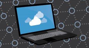cloud backup on a computer